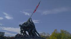 Stock Video Footage of US MARINE CORP WAR MEMORIAL # 5