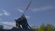 Stock Video Footage of US MARINE CORP WAR MEMORIAL # 5