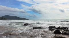 Sea tide Stock Footage