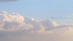 Cloud Hyperlapse Stock Footage