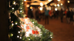 Christmas Crafts Stock Footage