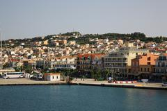 Stock Photo of view of the capital of kefalonia