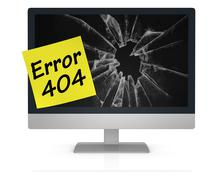 error 404 - stock illustration