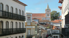 Se cathedral, angra do heroismo, terceira, azores, portugal Stock Footage