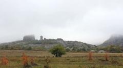 Off-road near Belogradchik Rocks Stock Footage