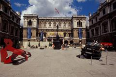 UK, England, London, the Royal Academy of Arts - stock photo