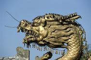 Stock Photo of China, Beijing, golden dragon