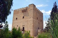 Kolossi Castle - stock photo