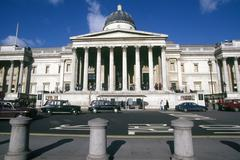 UK, England, London, The National Gallery - stock photo