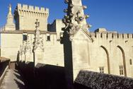 Stock Photo of France, Provence, Vaucluse, Avignon, Palace of the Popes