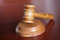 judges gavel - stock photo