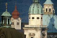 Stock Photo of Europe, Austria, Salzburg, cathedral