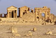 Stock Photo of Tunisia, Sbeitla, roman ruins