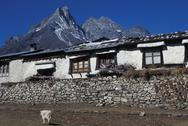 Stock Photo of Nepal, Everest region. Tengboche Monastery