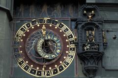 Switzerland, Bern, Zytgloggeturm (astronomic clock) Stock Photos