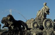 Stock Photo of Spain, Madrid, Cibeles Monument