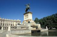 Stock Photo of Spain, Madrid, The Royal Palace