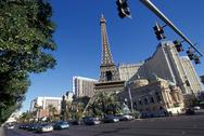 Stock Photo of USA, Las Vegas, Paris Paris casino and Hotel