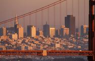 Stock Photo of USA, California, San Francisco, the Golden Gate bridge