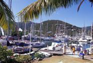 Stock Photo of British Virgin Island, Tortola, Nanny Cay marina