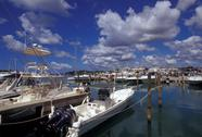 Stock Photo of Dominican Republic, Santo Domingo, Casa de Campo the marina