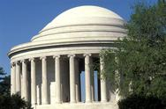 Stock Photo of USA, Washington DC., Jefferson Memorial