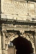 Italy, Rome the Tito Arch at the Fori Imperiali Stock Photos