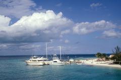 Mexico, Quintana Roo, Cancun. The beach Stock Photos