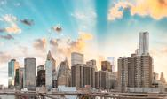 New York City - Manhattan Skyline Stock Photos