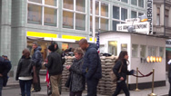 Stock Video Footage of charlie checkpoint berlin