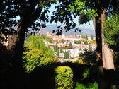 Stock Photo of Alhambra gardens views