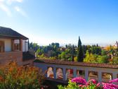 Stock Photo of Gardens views in Alhambra