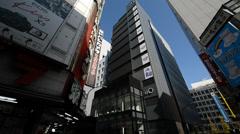 Electronic stores in Shinjuku, Tokyo Stock Footage