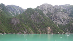 Alaskan Mountain Aerial #4 Stock Footage
