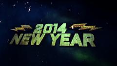 Electrifying New Year Stock Footage