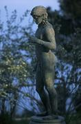 Stock Photo of Italy, Campania, Ravello, Villa Cimbrone. Statue