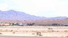 F-22 Raptor fighter jets Stock Footage