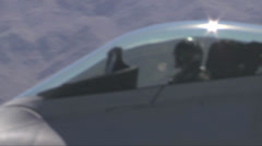 F-22 Raptor fighter jets Stock Footage