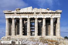 Europe,Greece,Athens,Acropolis, Parthenon Stock Photos