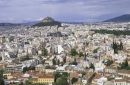 Stock Photo of Europe,Greece, Athens aerial view of the city