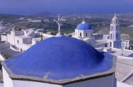 Stock Photo of Cyclades, Greece, Santorini, Sanctuary of Christ