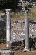Greece, Archipelago Dodecanneso,Kos, ancient site - stock photo
