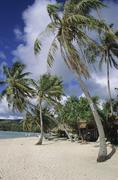 Polynesia, French Polynesia, Huahine Stock Photos