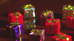 Little presents present 1 Stock Footage