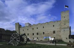 Estonia, Rakvere stronghold (13-14th c.) Stock Photos
