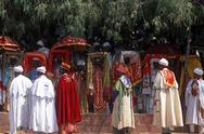 Stock Photo of Ethiopia, Welo province, Lalibela, Timkat (feast of Epiphany)