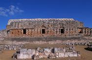 Stock Photo of Mexico, Yucatan, Kabah, Maya ruins, Codz Pop palace