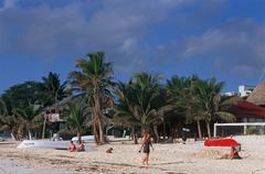 Mexico, Quintana Roo. Playa del Carmen Stock Photos
