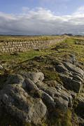 Northen England, Hadrian's wall - stock photo