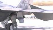 Stock Video Footage of F-22 Raptor fighter jets